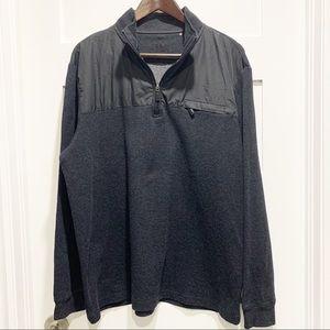 BUGATCHI UOMO Quarter-Zip Pullover